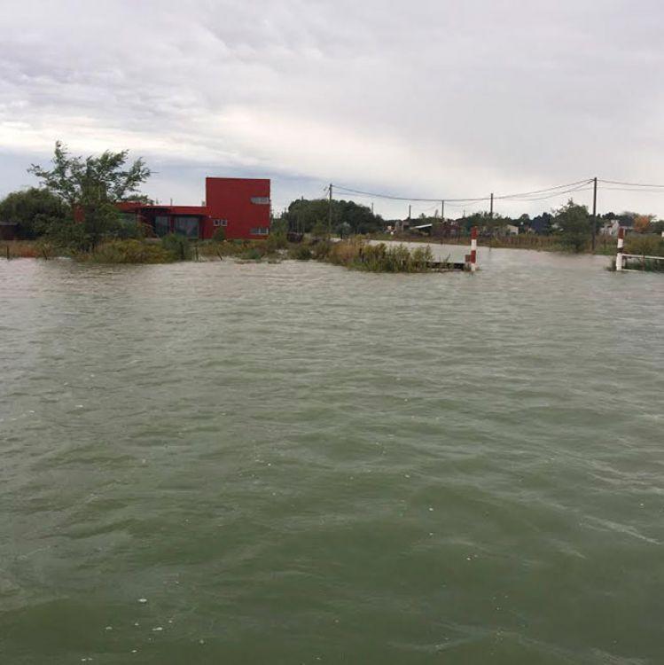 En cuatro días, llovió en Santa Rosa el 66% de lo que se precipita en un año