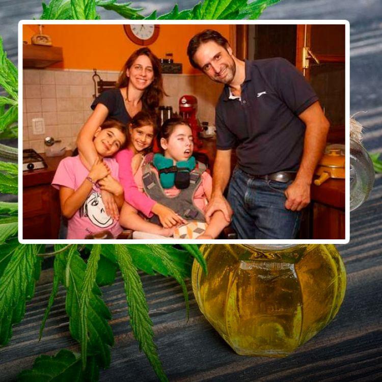 Una familia platense, la primera en recibir aceite de cannabis a través de obra social