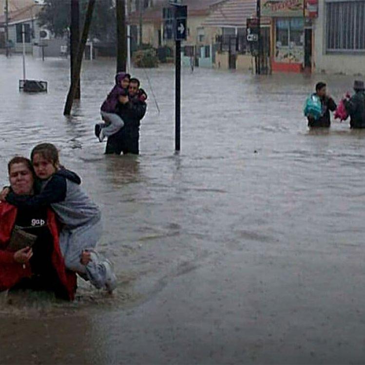 Comodoro Rivadavia en estado de emergencia. Siguen las lluvias