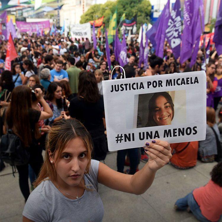 Importante convocatoria por la marcha sobre el femicidio de Micaela García