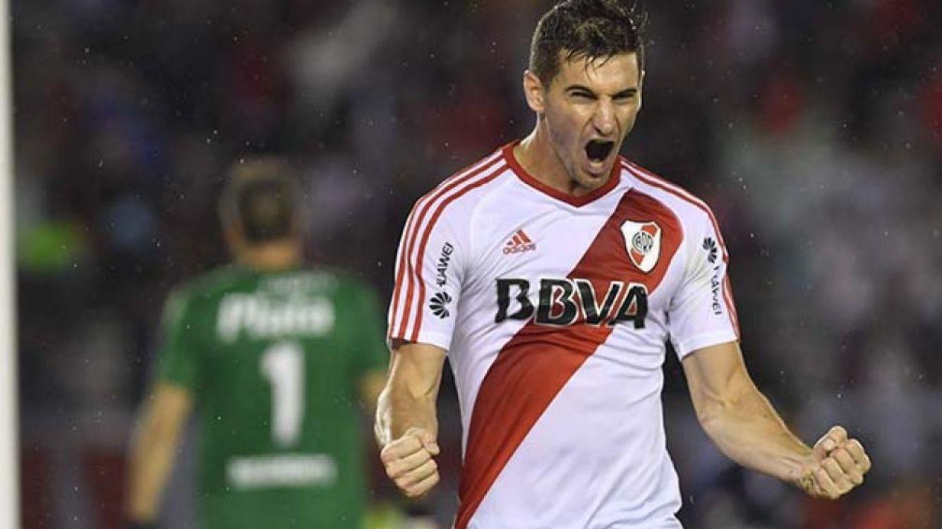 Con un doblete de Alario, River Plate ganó 2-0 a Quilmes