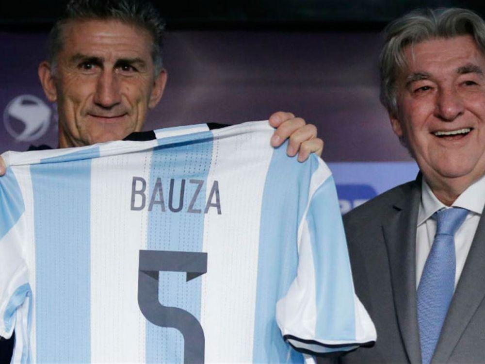 El Patón Bauza y Armando Pérez