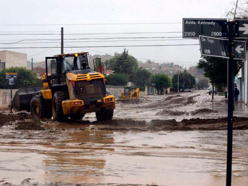 Decretaron el estado de catástrofe para Comodoro Rivadavia