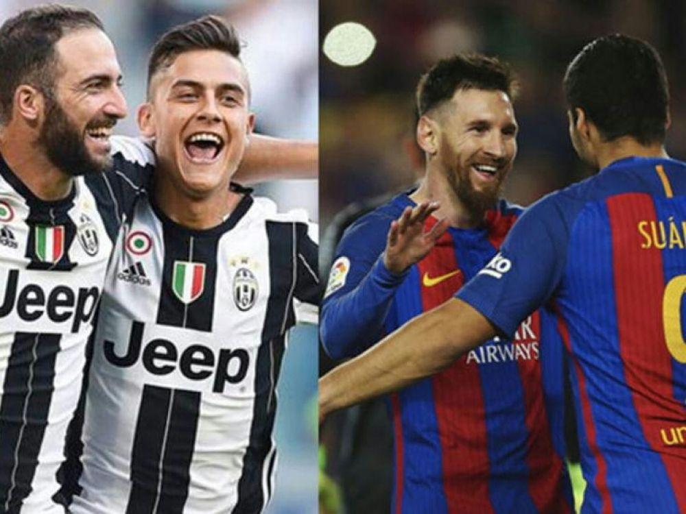 Duelo de argentinos ... Higuaín-Dybala vs Messi-Mascherano