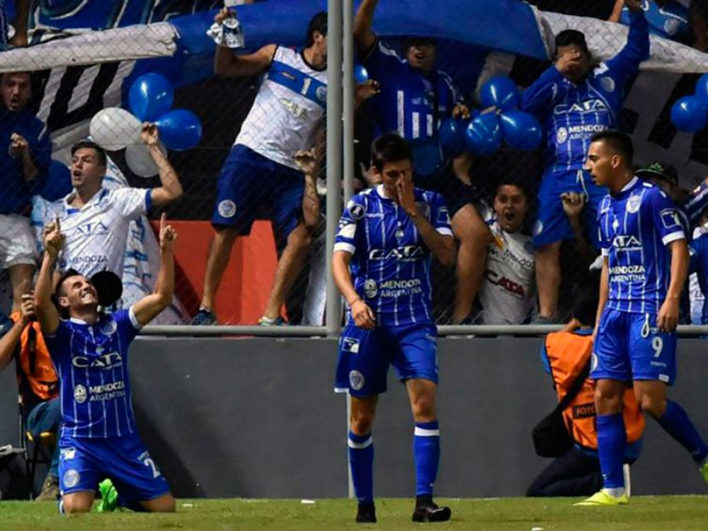 Godoy Cruz le ganó 2-1 a Libertad de visitante