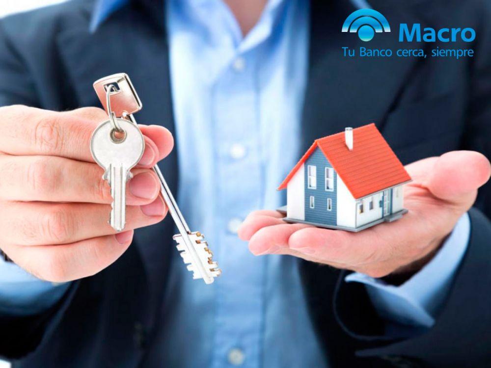 Banco Macro: Habilitó créditos de hasta 16 Millones para tu Casa