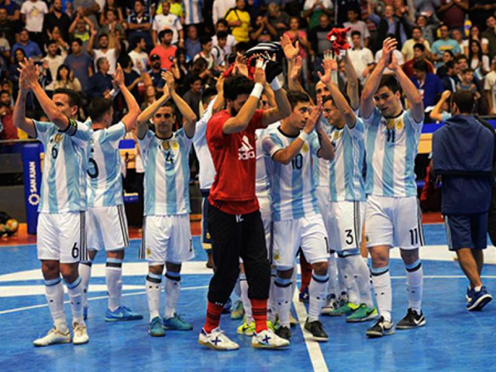 Argentina y Brasil definen la Copa América de Futsal