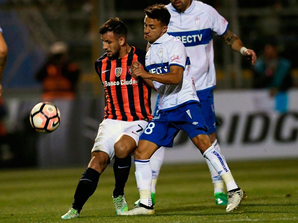 San Lorenzo logró un empate en Chile frente a Universidad Católica