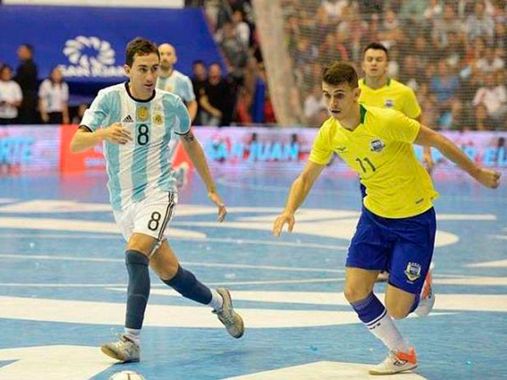 Futsal: A la Selección Argentina se le escapó la Copa América frente a Brasil