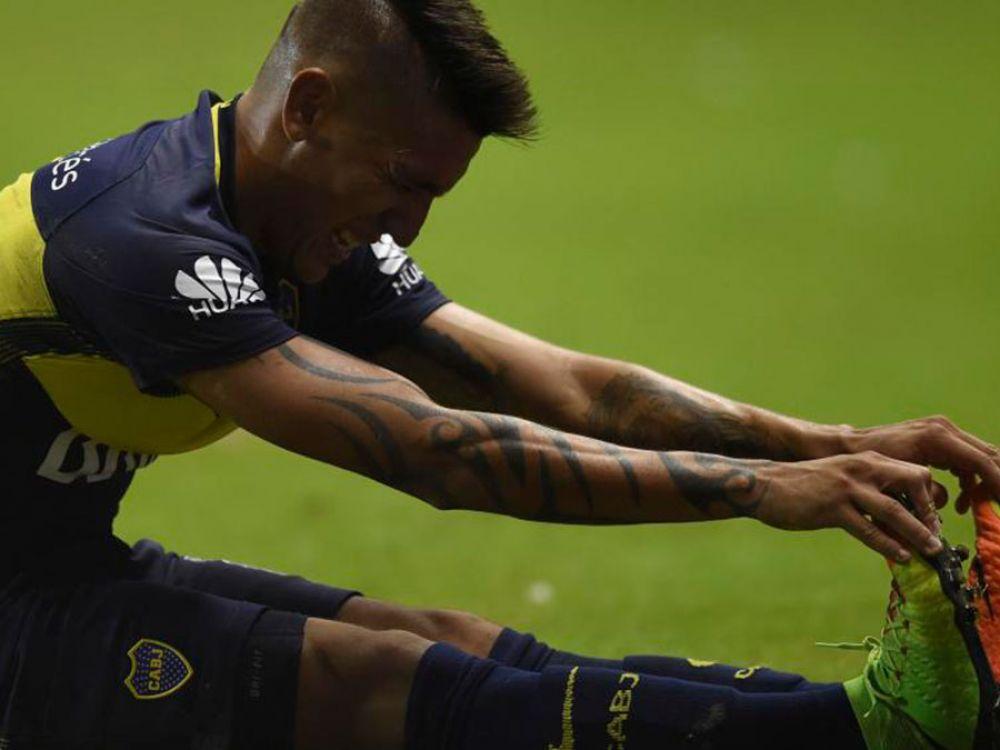 Malas noticias para Boca: Se lesionó Centurión!
