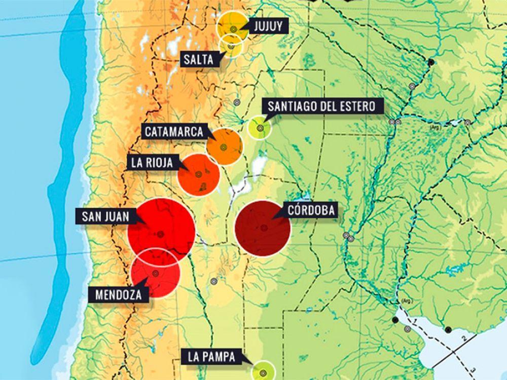 ¿La Argentina tiembla más que antes?