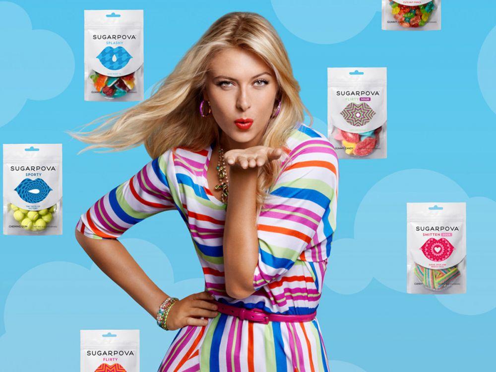 Sugarpova ,línea de caramelos premium y chocolates gourmet de María Sharapova