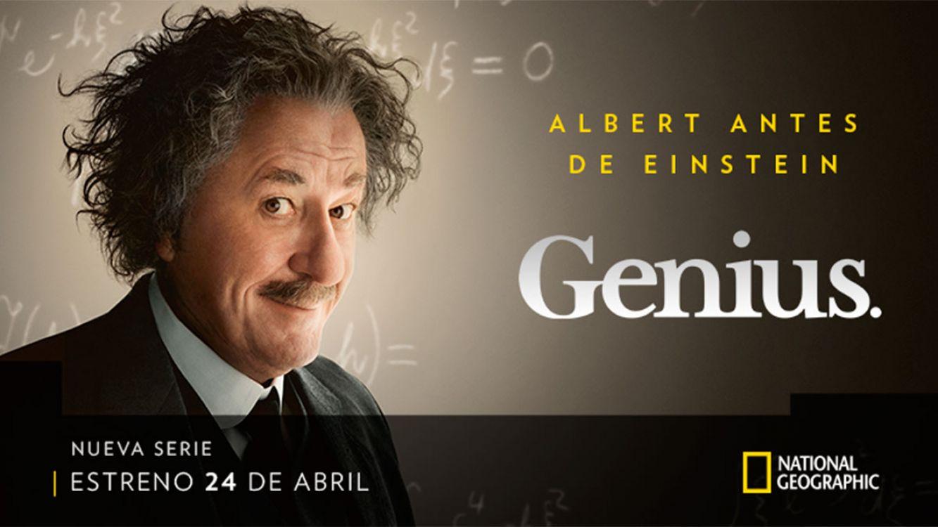 Genius, una miniserie de Nat Geo sobre la vida de Albert Einstein