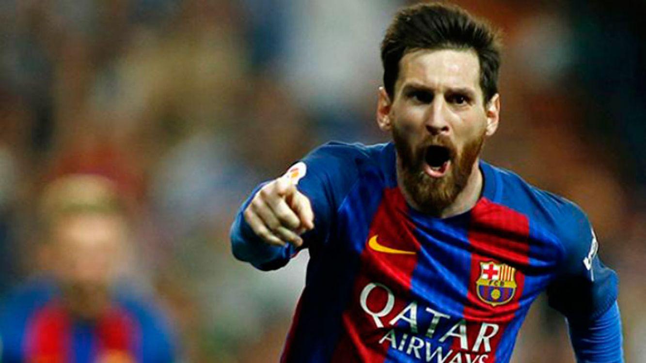 Barcelona le ganó de visitante al Real Madrid en el último minuto y arde la liga española