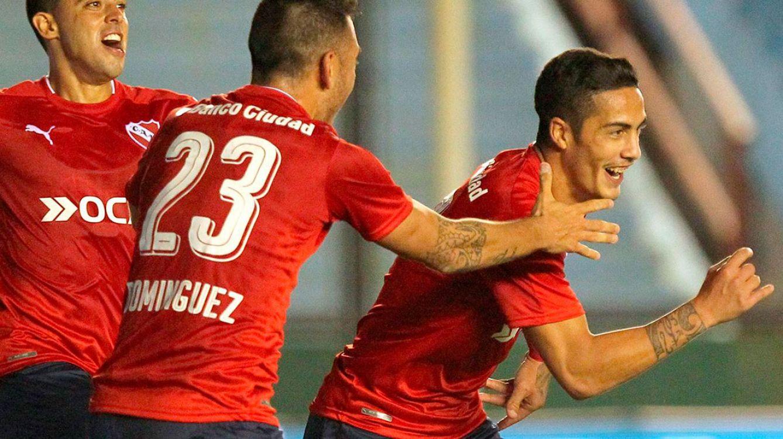 Independiente ganó en Sarandí y Holan sigue con su invicto
