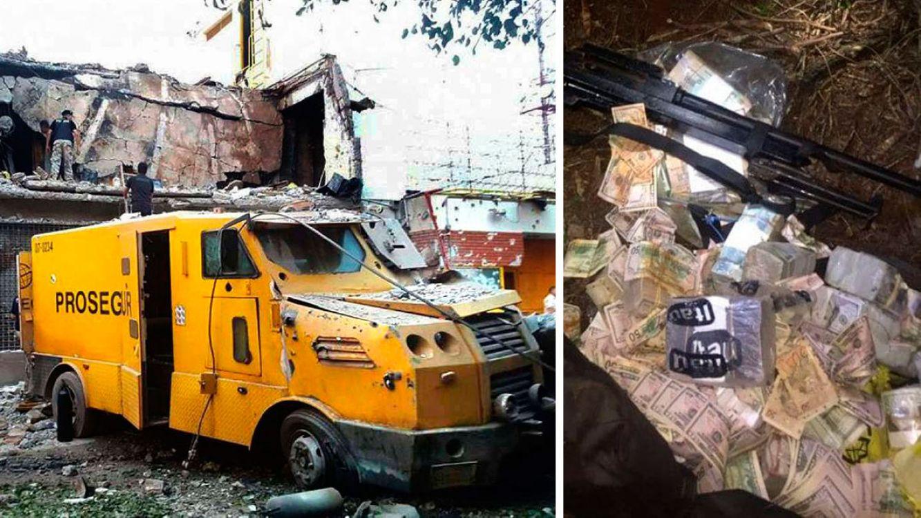 Encontraron parte del botín del millonario robo en Ciudad del Este