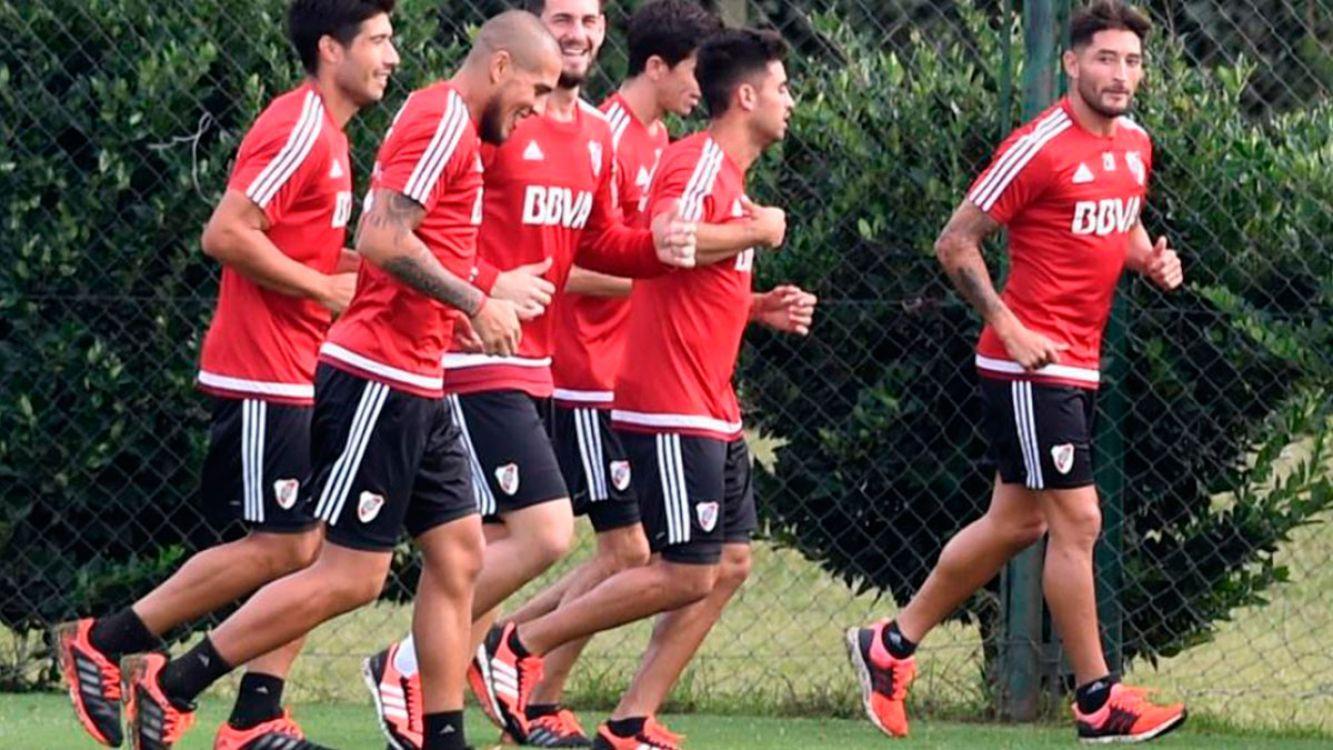 River Plate se prepara para enfrentar al Emelec este jueves
