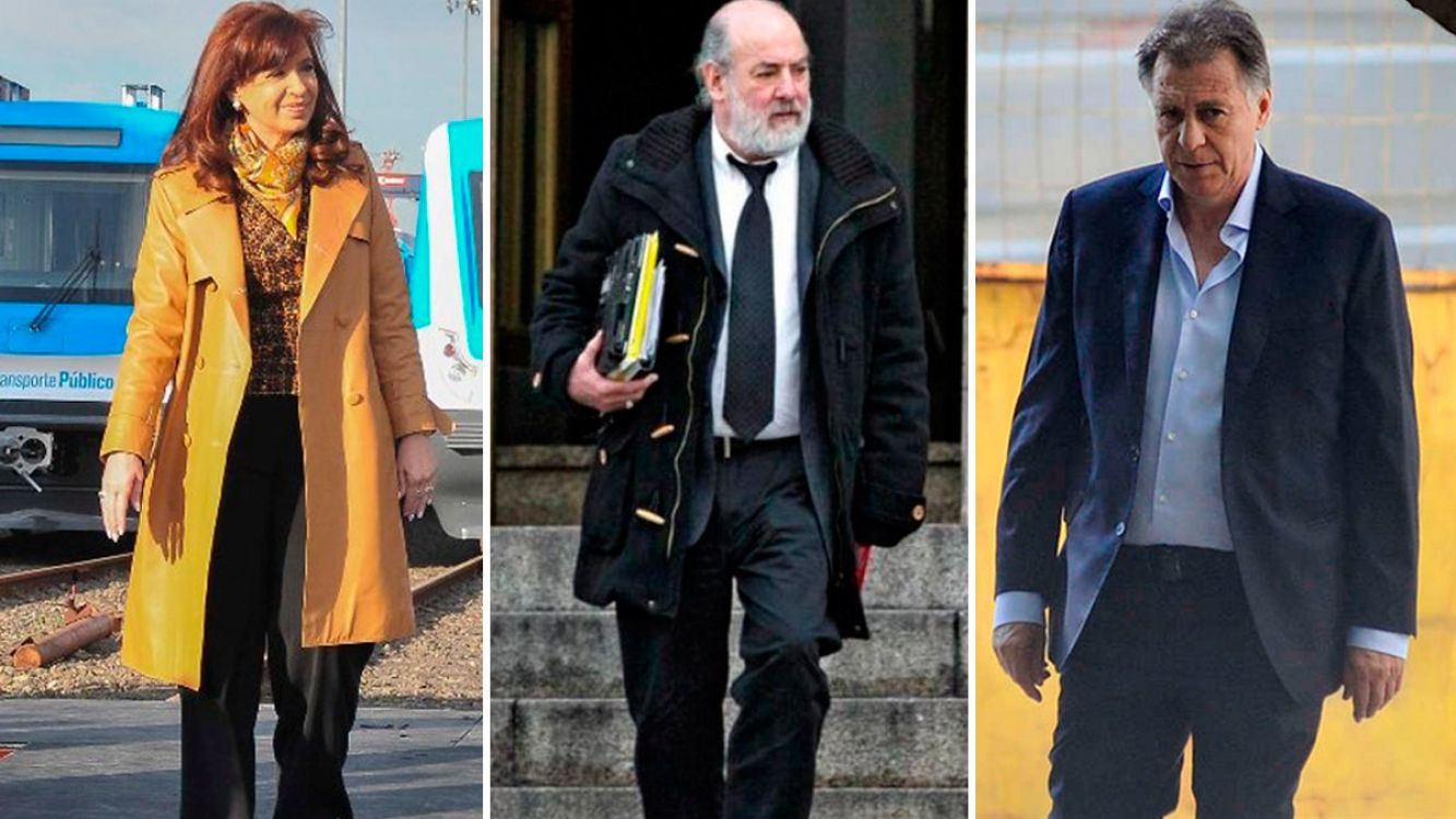 Cristina Fernández, Claudio Bonadío y Cristóbal López