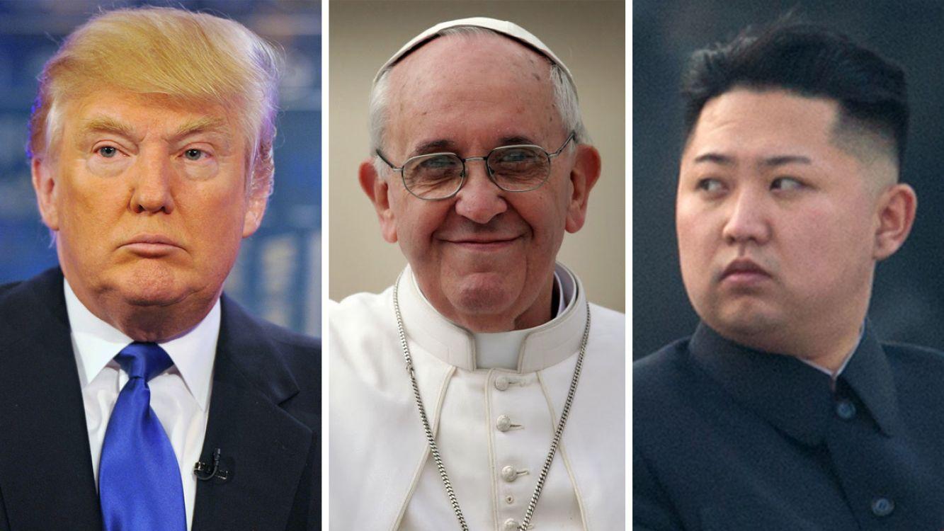 El Papa pide mediación entre Trump y Kim Jong-un para evitar una posible guerra