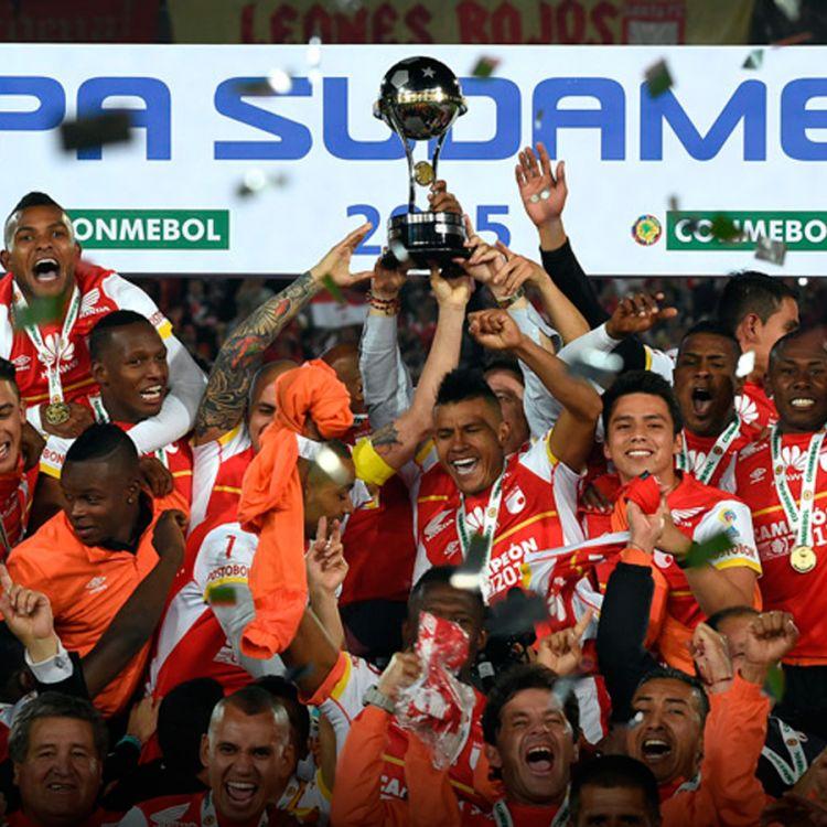 Foto del último campeón de la Copa Sudamericana