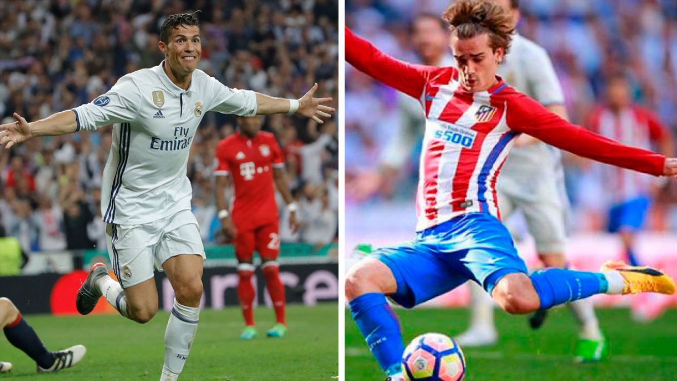 Real Madrid vs Atlético Madrid por la Liga de Campeones