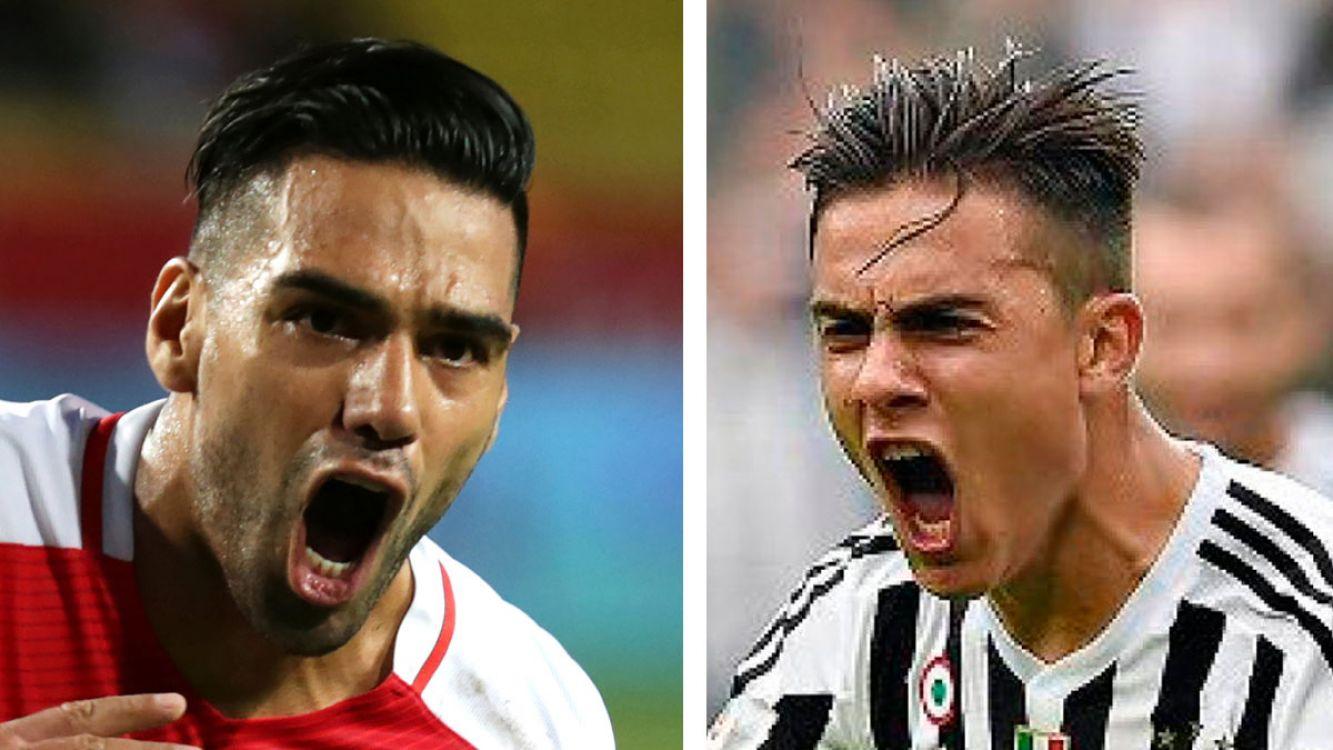 Radamel Falcao y Paulo DyBala enfrentados