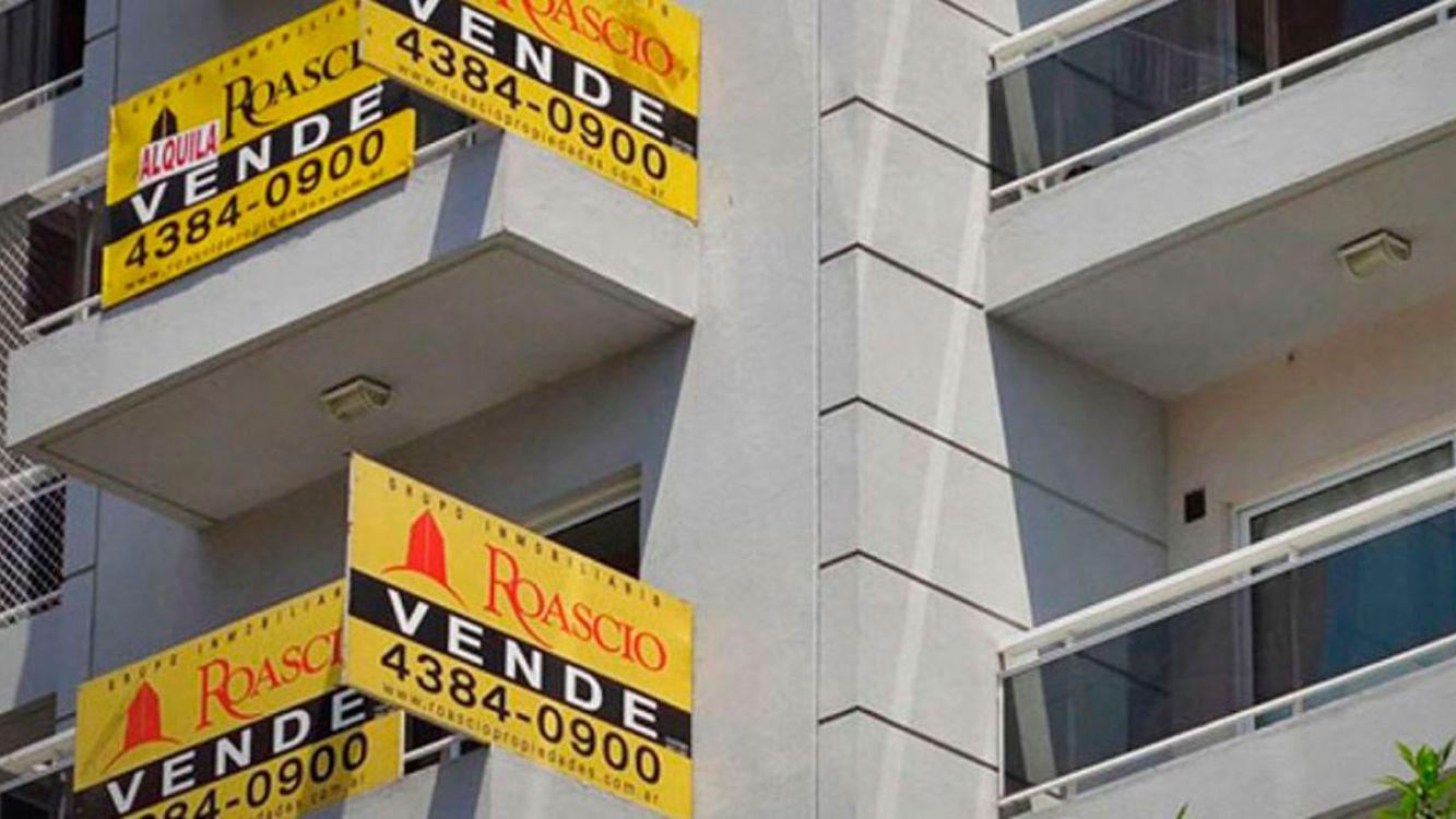 La venta de inmuebles creció un 43,7%, con créditos saltó 129,6%