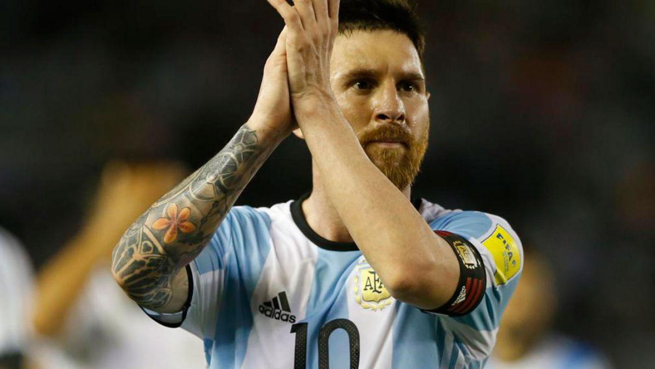 La FIFA le levantó la sanción a Messi