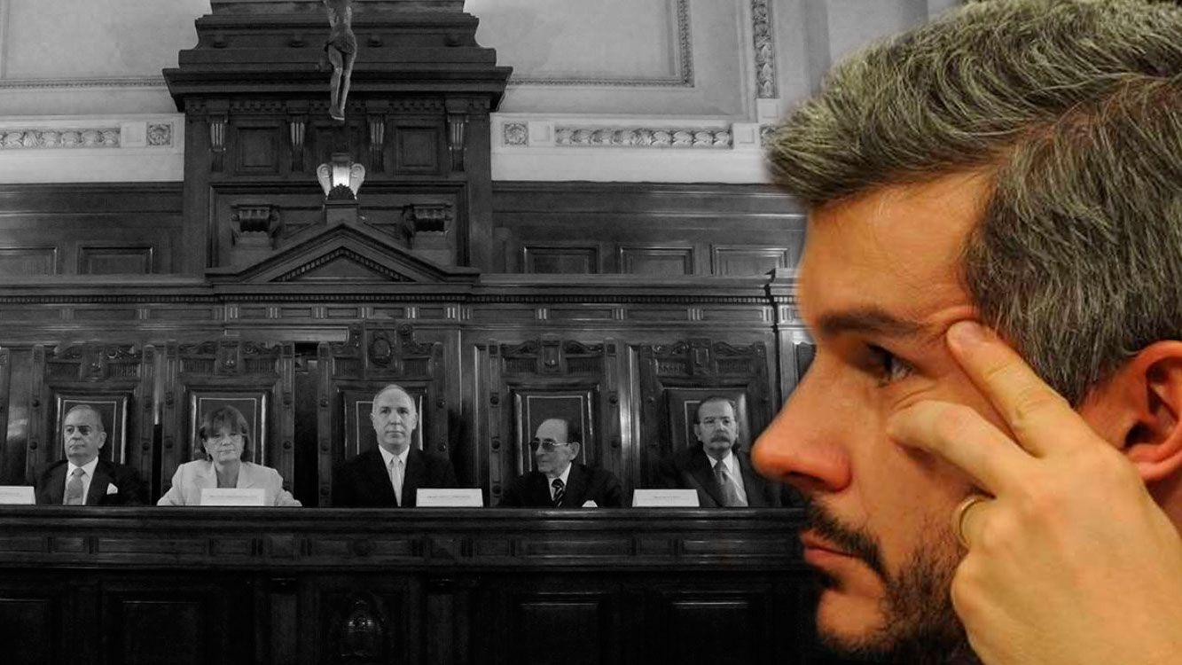"""Marcos Peña: """"Rechazamos el 2x1, y más que se aplique a delitos de lesa humanidad"""""""