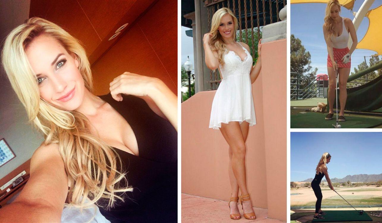 Paige Spiranac, considerada la golfista más sexy del mundo