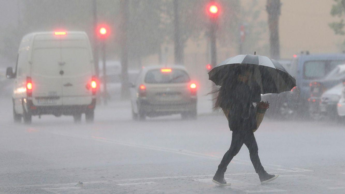 Alerta por lluvias y tormentas intensas para siete provincias