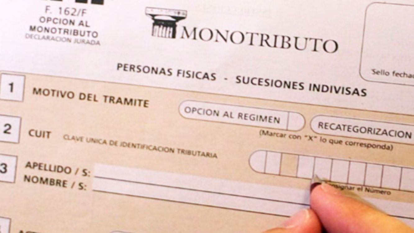 Rigen desde este mes cambios en la forma de pago del monotributo