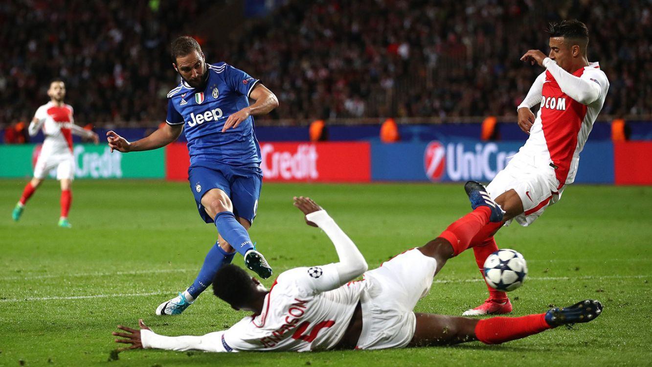 Juventus vs Mónaco partido revancha desde la 15.45 hora argentina