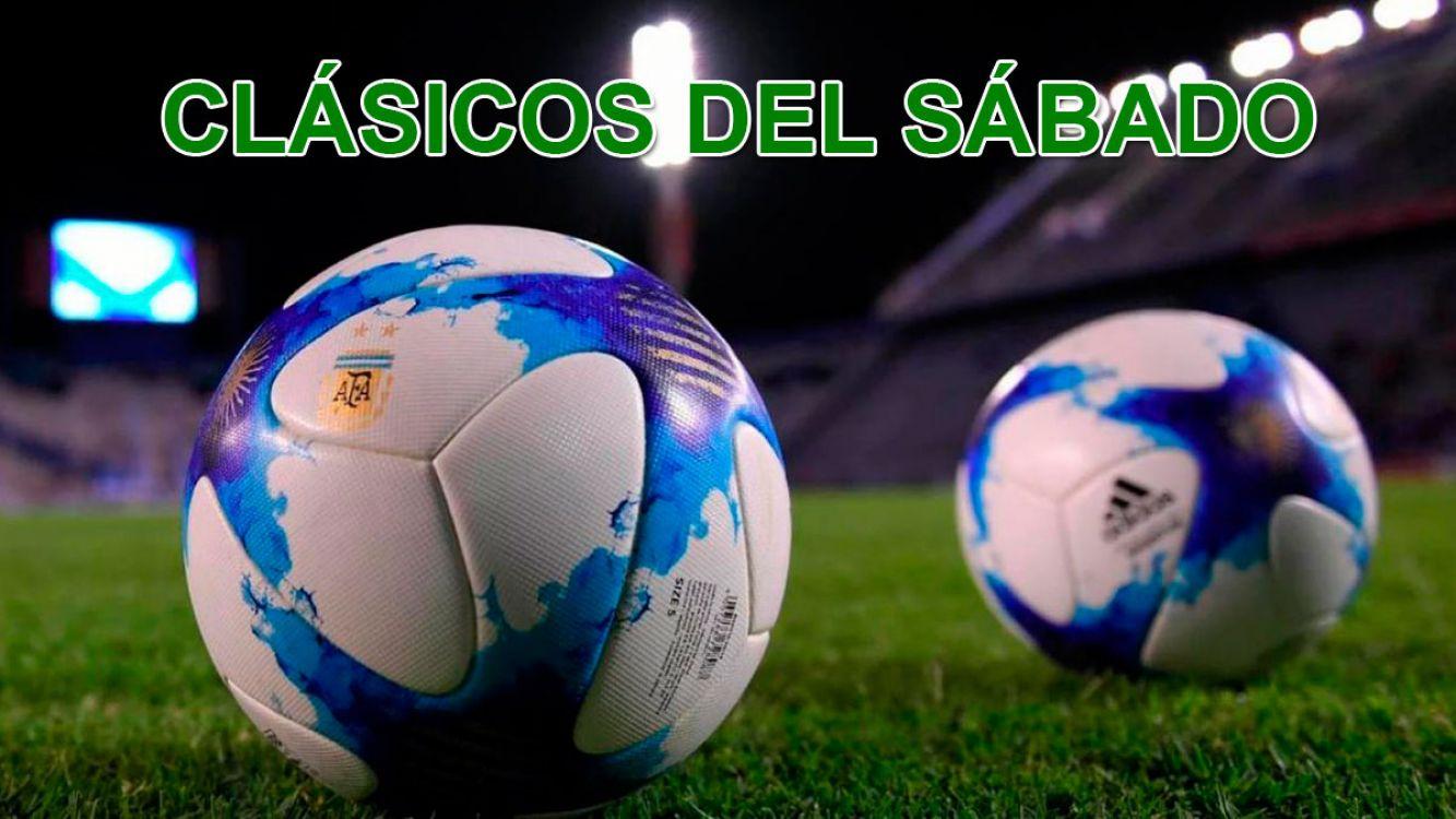 Fútbol Argentino. Un sábado cargado de clásicos!