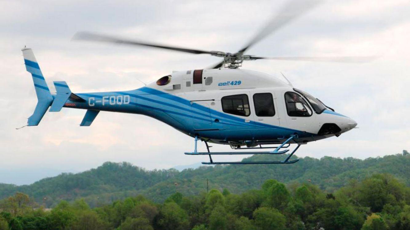 El gobierno de Tucumán compró un helicóptero Bell 429.