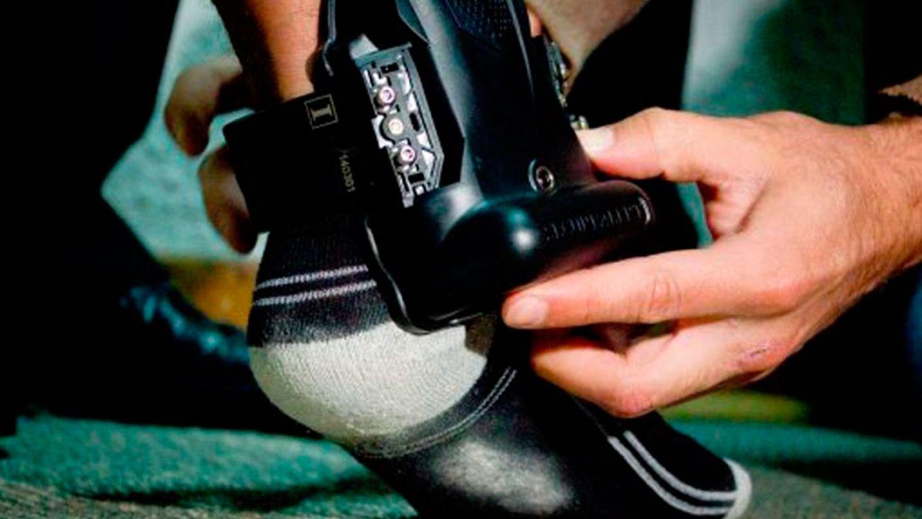 Una mujer con detención domiciliaria, será la primera persona en usar la tobillera electrónica
