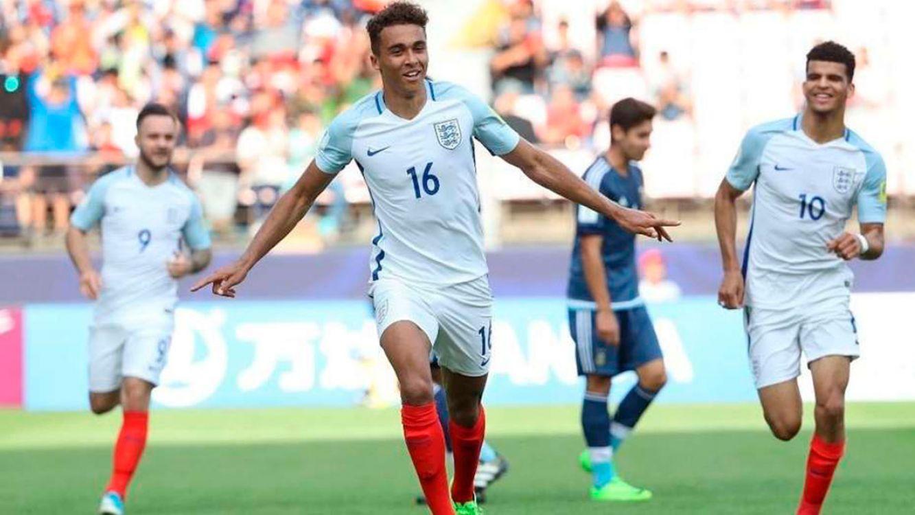 Argentina perdió 0-3 con Inglaterra en el debut del mundial sub 20