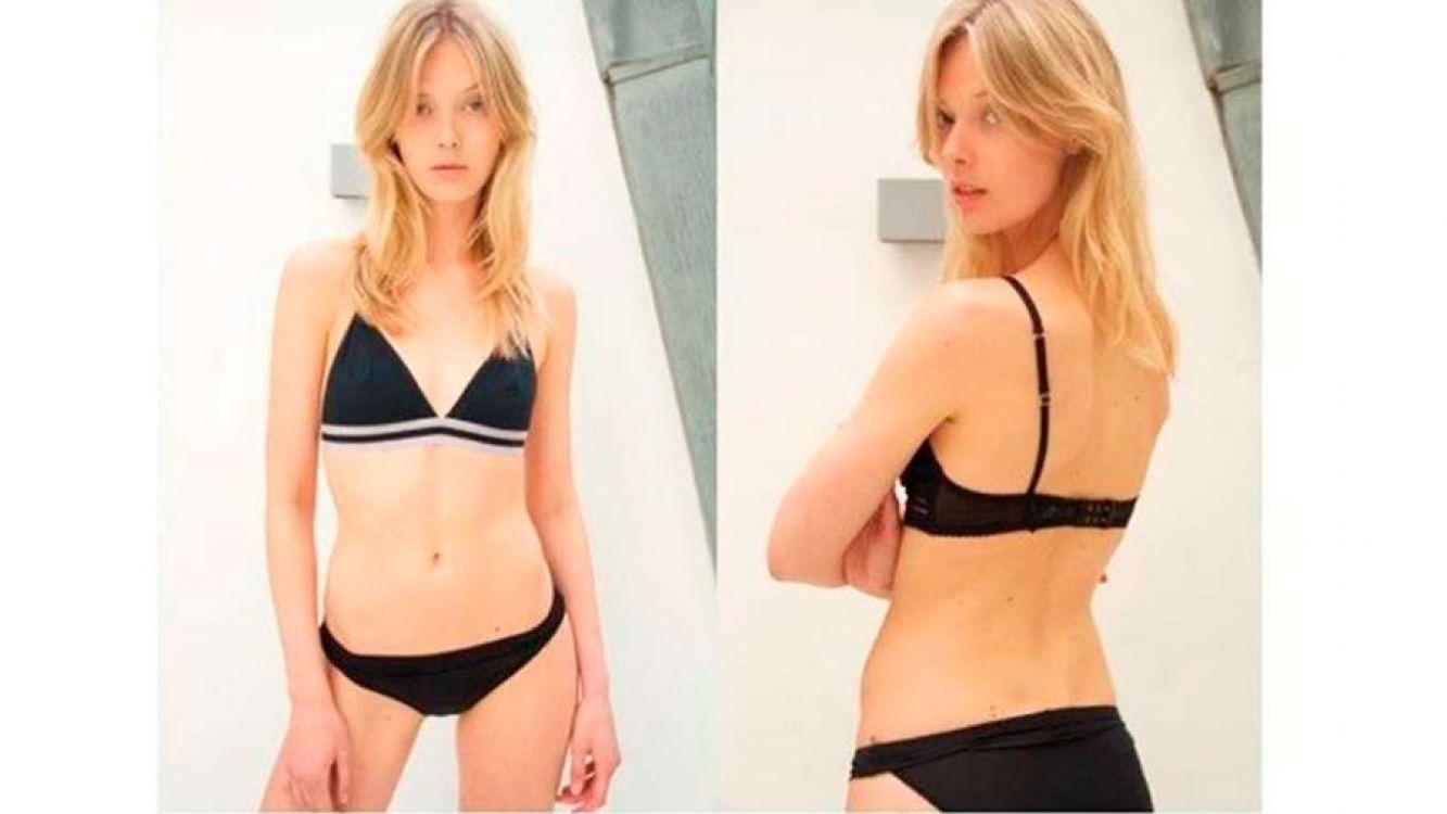 La modelo danesa Ulrikke Hoyer denunció que fue excluida de un desfile de Louis Vuitton por gorda