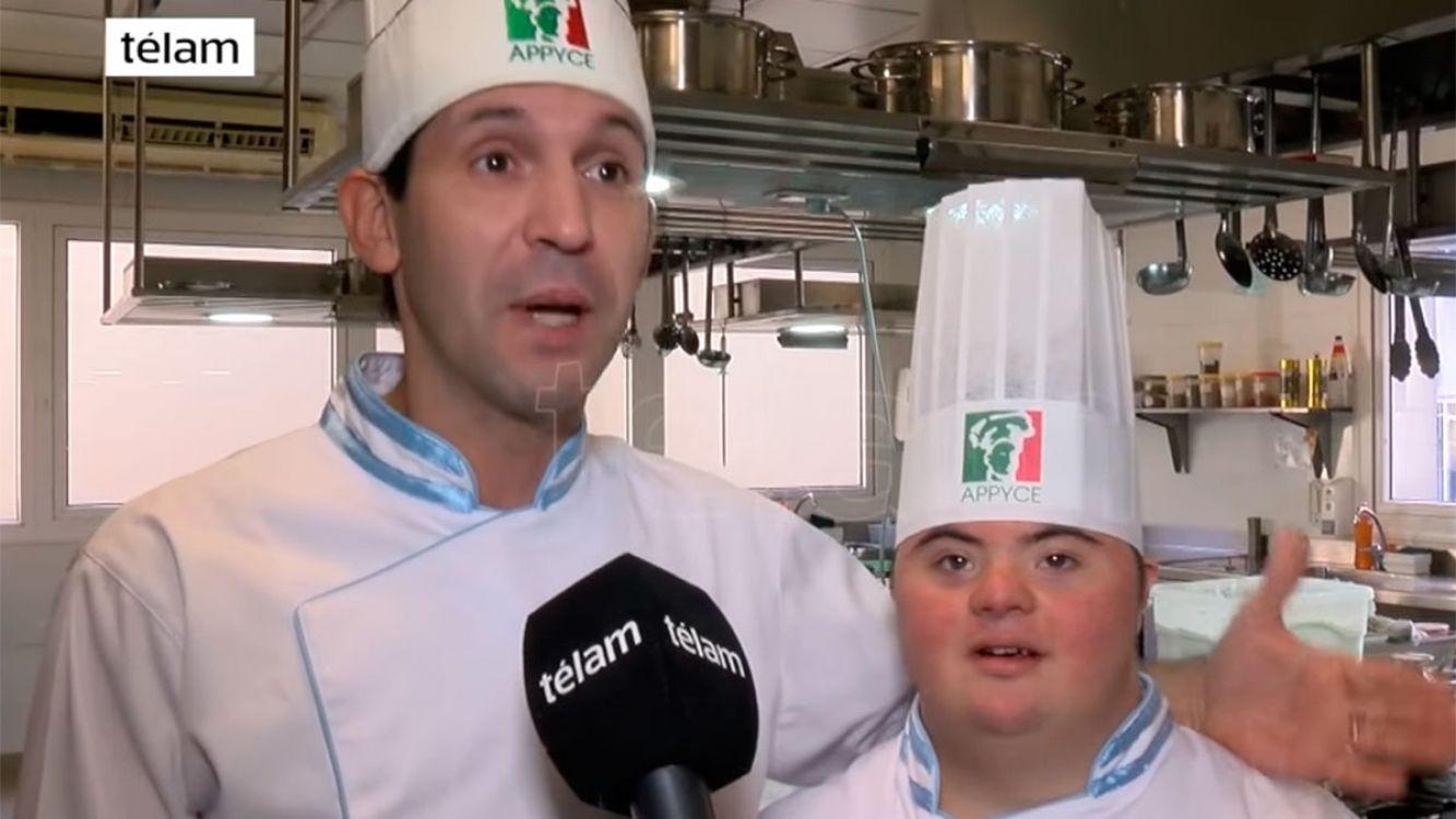 Mateo Kawaguchi, de 22 años, es integrante del equipo que representó a la Argentina en el Mundial de la Pizza 2017 en Parma