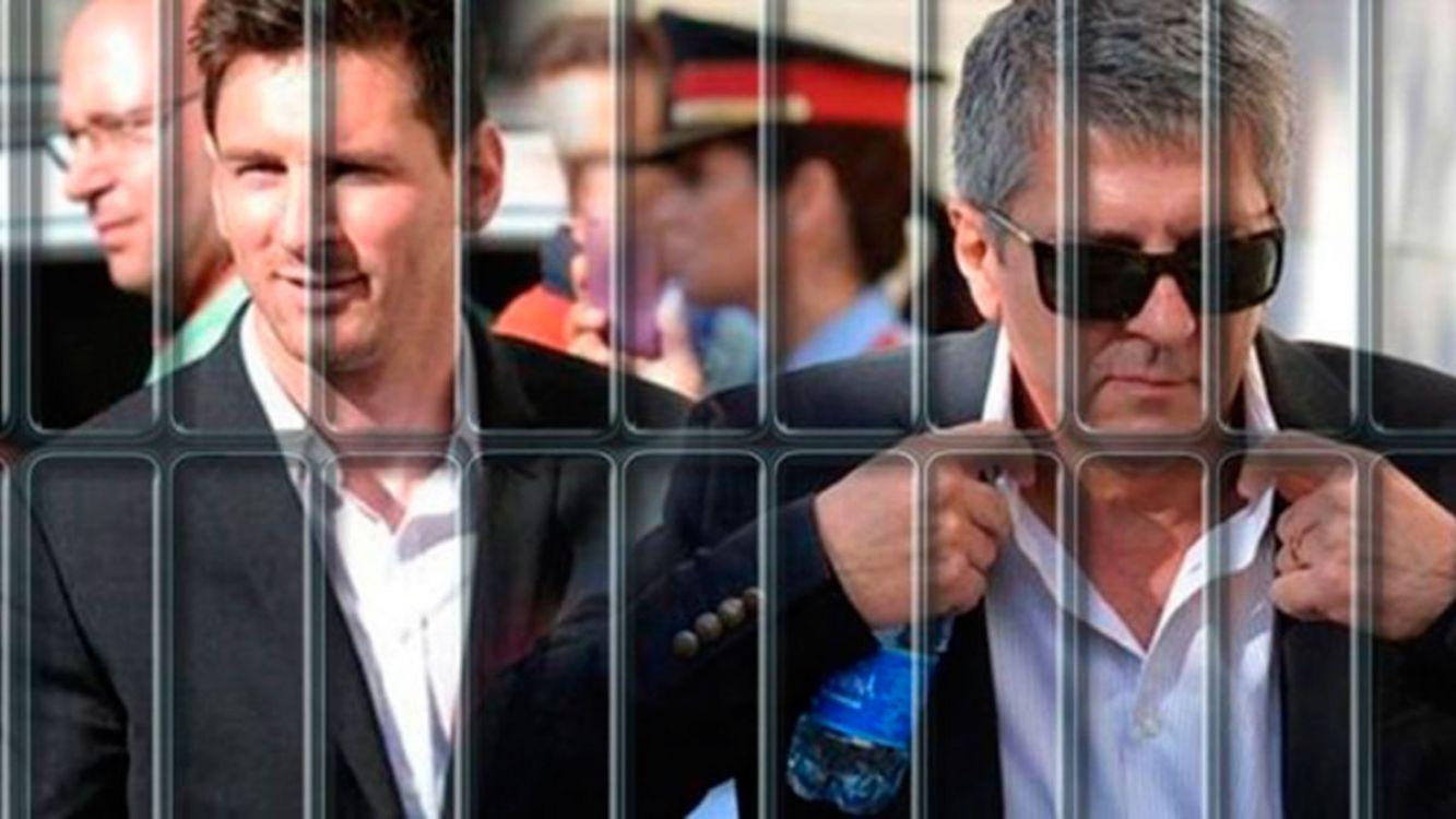 Messi y su papá condenados a 21 meses de prisión por evasión