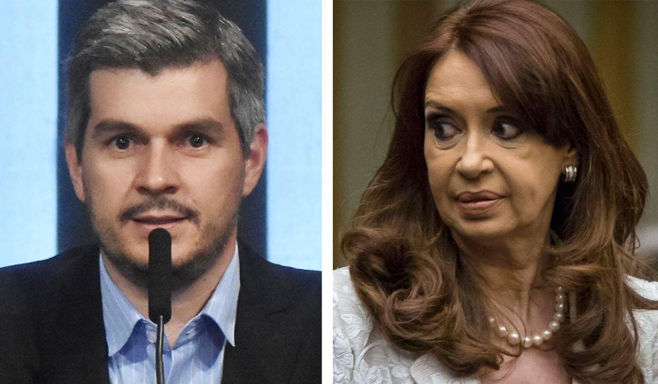 Marcos Peña vs Cristina kirchner