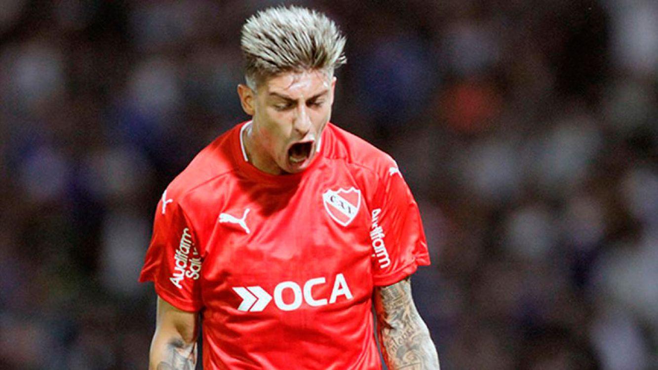 Rigoni, jugador de Independiente