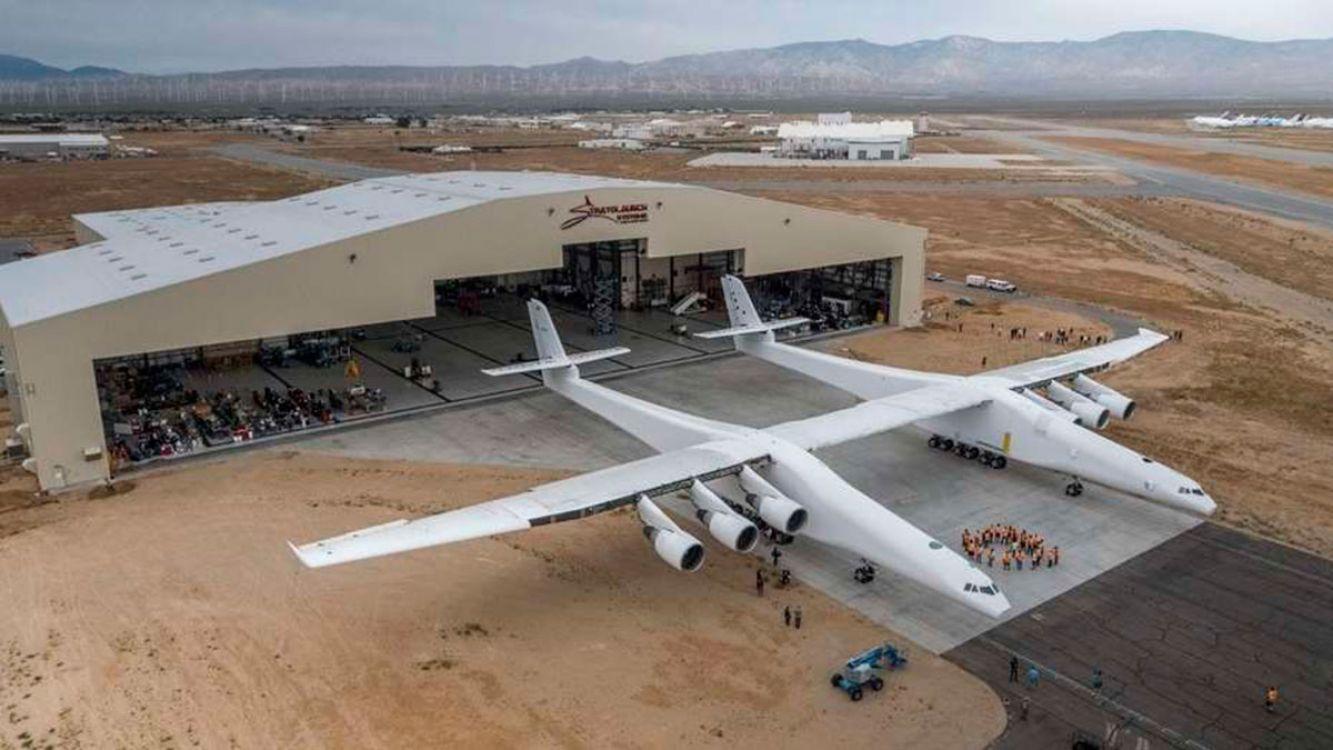 Empiezan las pruebas del avión más grande del mundo