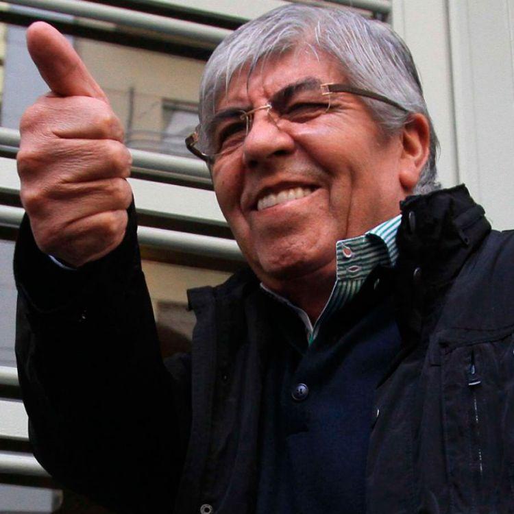Hugo Moyano se despide de la CGT