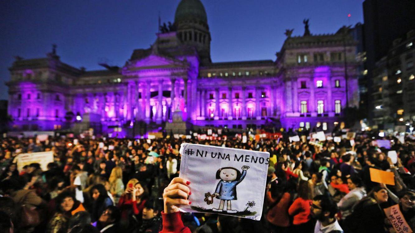 Nueva marcha: La movilización nacional contra la violencia de género cumple tres años