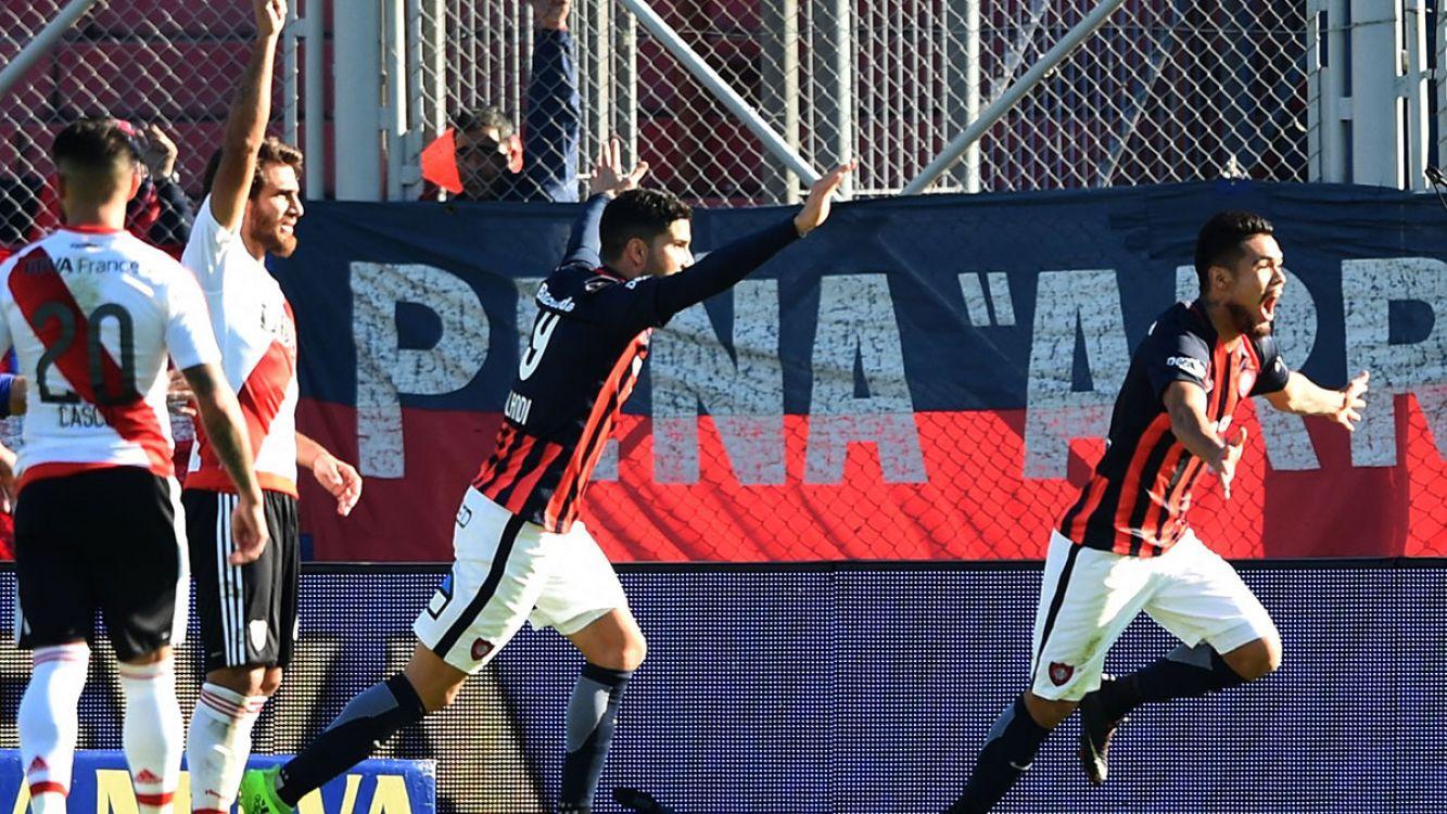River Plate perdió frente a San Lorenzoe en el nuevo gasómetro