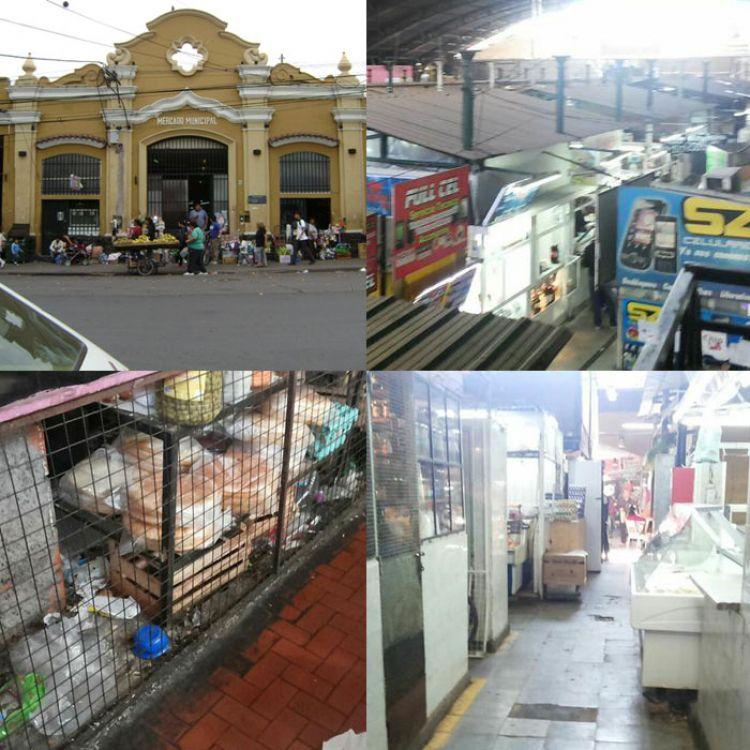 El Mercado  San Miguel, su falta de cuidado y de amistad con la limpieza.