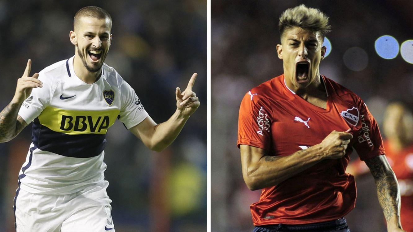 Darío Benedetto y Claudio Rigoni, las claves del gol de Boca e Independiente