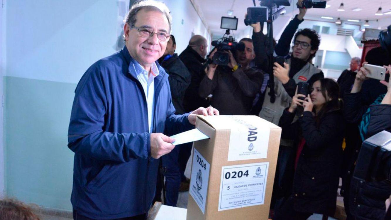 El Presidente felicitó a Tassano por su triunfo en Corrientes
