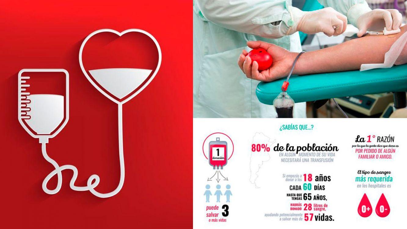 Día del donante de Sangre, preocupa la pobre adhesión de donantes en Argentina
